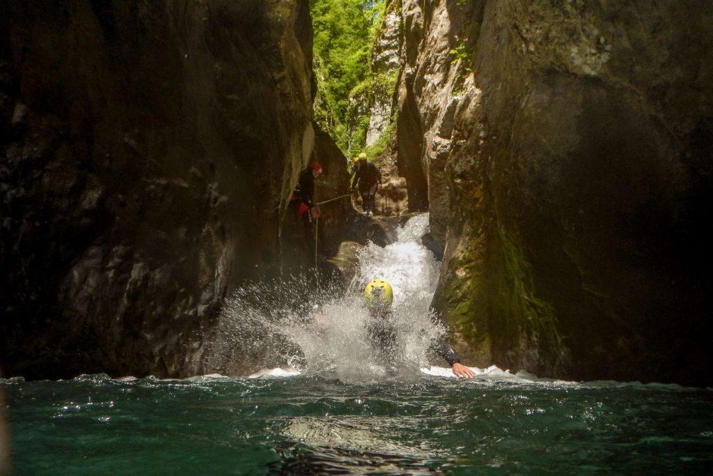 Canyoning, Nevidio, Balkan Adventure
