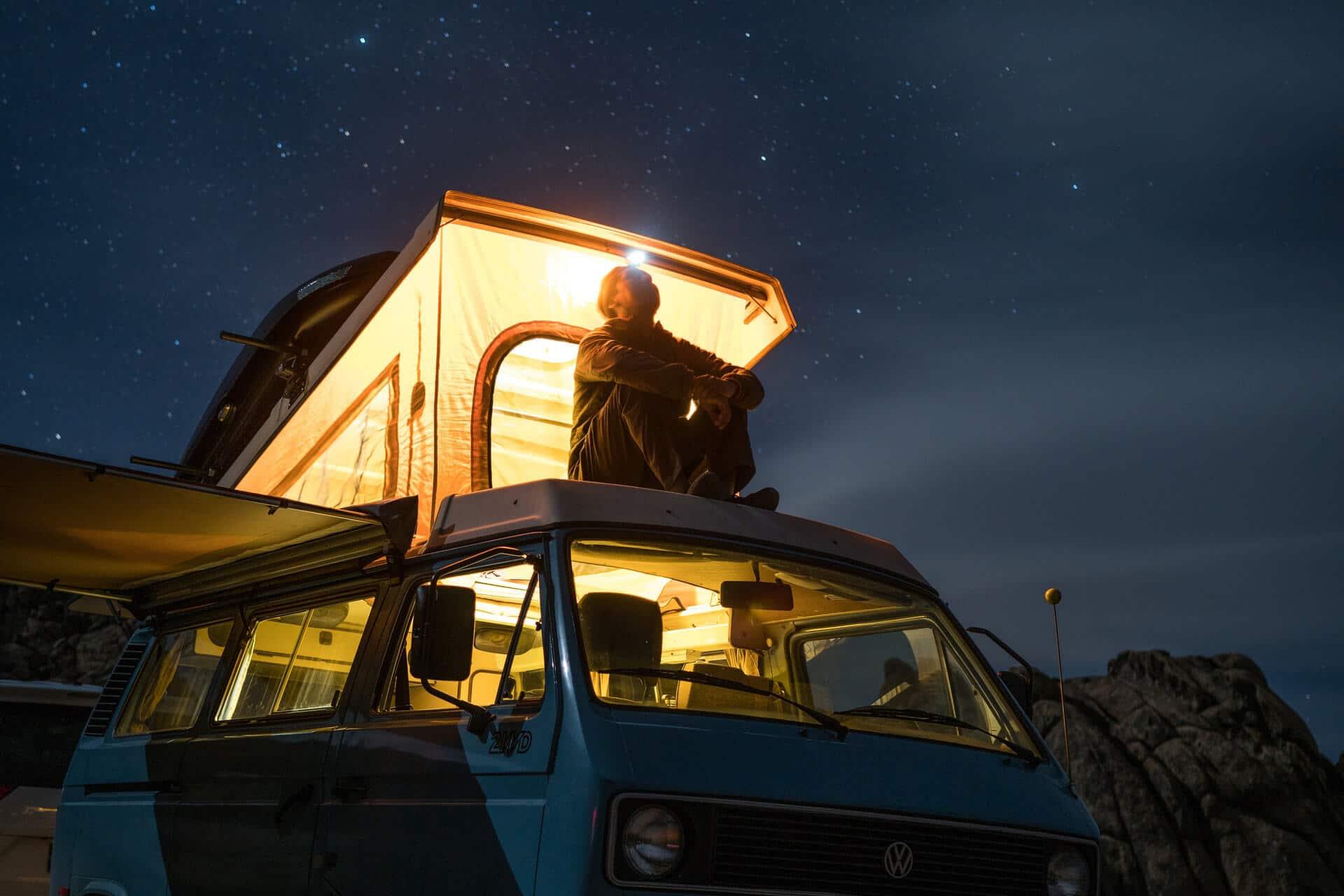 Header, Camper Van, Balkan Adventure